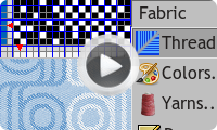 ArahWeave CAD/CAM for weaving