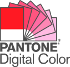 Supports Pantone color librarie